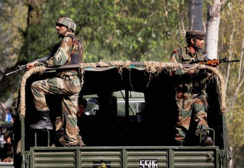 Intruders gunned down in Jammu and Kashmir