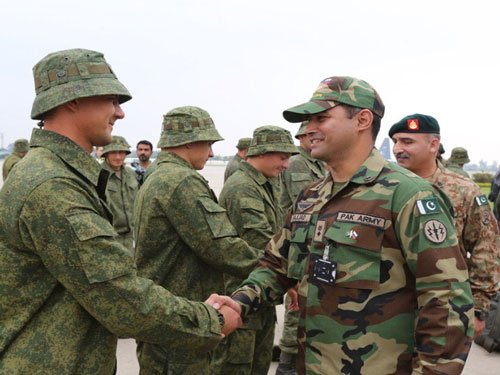 No joint military exercise with Pakistan in PoK says Russia