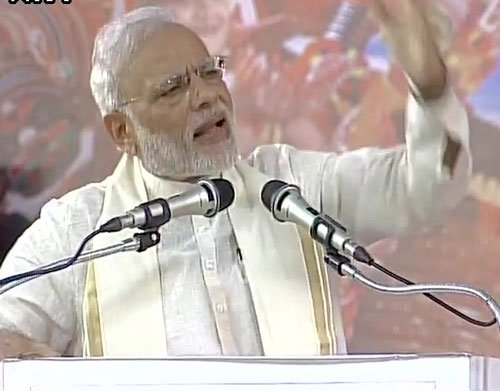 PM accuses Pakistan of conspiring to spill blood across Asia