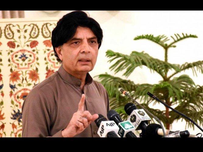 US 'speaking India's language': Pakistan interior minister