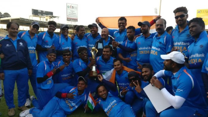Blind World Cup: India pip Pakistan to retain crown
