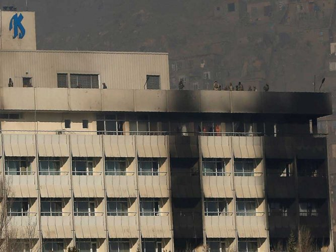 India hits out at Pakistan over attack on hotel in Kabul