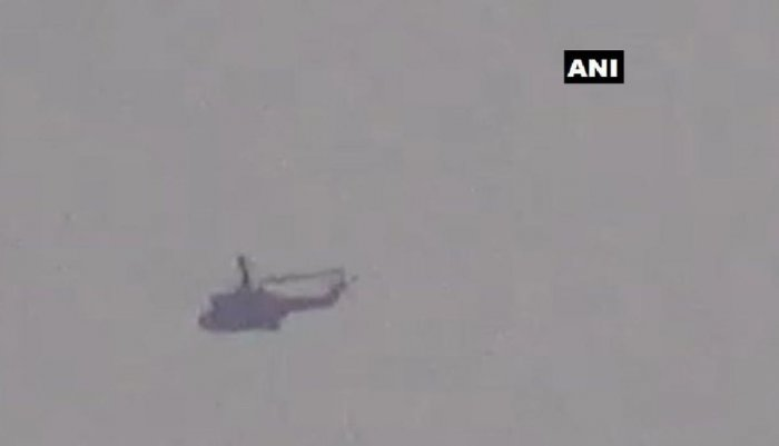 Pakistan chopper spotted close to LoC