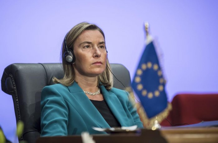 Federica Mogherini, EU High Representative for Foreign Affairs and Security Policy. AFP file photo
