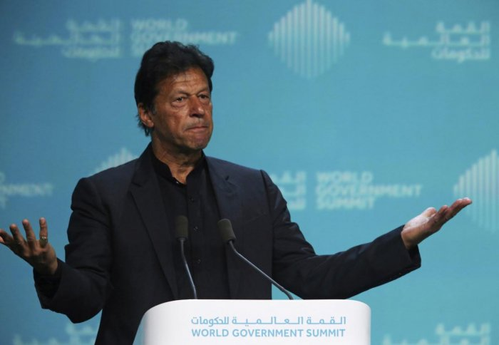 A day earlier, Prime Minister Imran Khan met IMF chief Christine Lagarde in Dubai to discuss a bailout, and the country's foreign currency reserves have dwindled to around $8 billion, just enough to cover about two months of imports