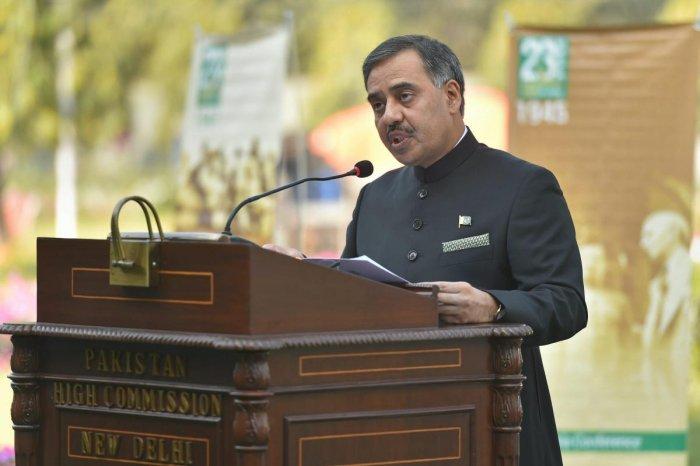 Sohail Mahmood, Pakistan's envoy to India. (PTI File Photo)