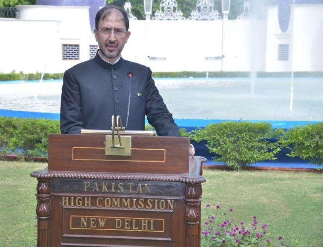 Syed Haider Shah, the Deputy High Commissioner of Pakistan in New Delhi, was summoned to the Ministry of External Affairs, where senior diplomats lodged a strong protest over the death of an infant due to unprovoked ceasefire violationsby Pakistan soldiers. Picture courtesy Twitter