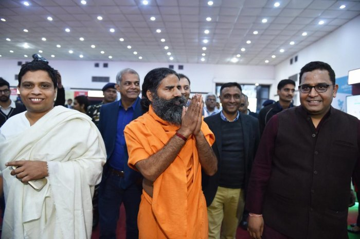 Yoga guru Baba Ramdev. PTI File Photo