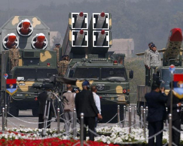 Pakistan missiles (DH File photo)