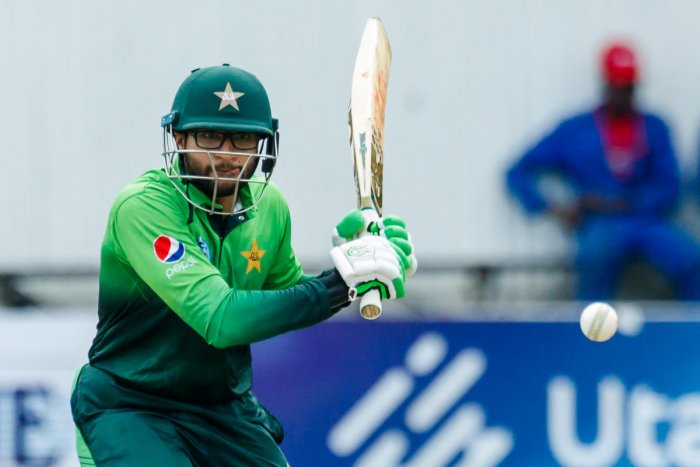 RED-HOT: Pakistan's Imam Ul Haq en route to his 110 against Zimbabwe in the fifth and final ODI against Zimbabwe. AFP