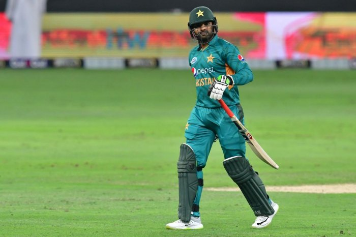 Azam's 40-ball 50 lifted Pakistan to another challenging total of 150-5 before Shadab's 3-19 helped bowl Australia out for 117 in 19.1 overs on Sunday. (AFP File Photo)