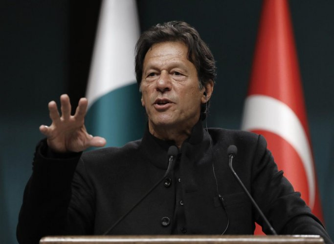 According to opposition's allegations, PM Imran Khan has imposed a total ban on media coverage of opposition leaders. Photo credit: PTI