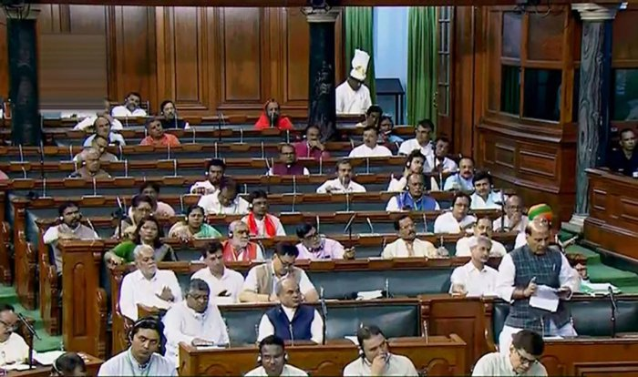 The Modi government has lined up a heavy legislative agenda for the ongoing Budget Session of Parliament which is expected to be extended by a week. (PTI Photo)