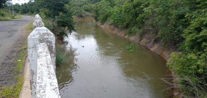 Water from Harangi reservoir was released to a canal near Kushalnagar.
