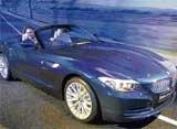 BMW rolls out sports car Z4 Drive Roadster