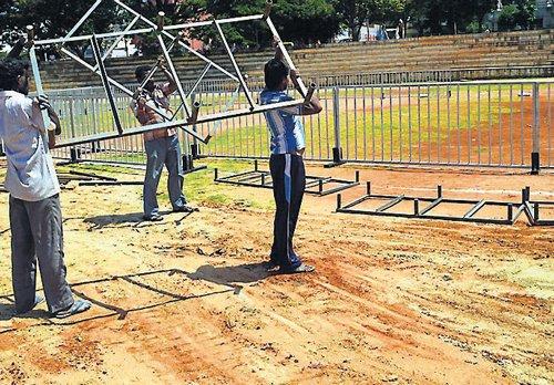 Dasara sports venue shifted to accommodate Sonia Gandhi