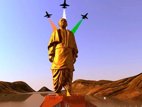 Modi ministers on iron hunt  for giant Sardar Patel statue