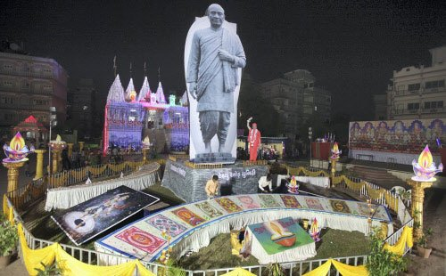 Sardar statue doesn't excite Nandiad voters