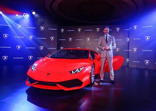 Lamborghini launches super sports car Huracan in India