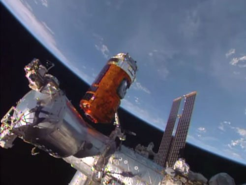 Japan delivers whiskey to space station for science
