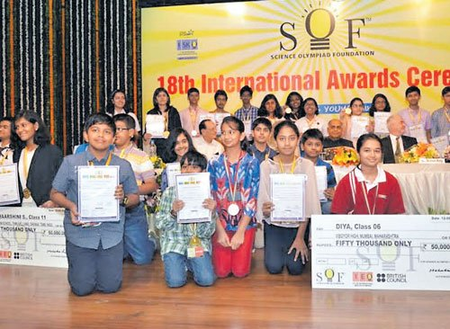 City students bag ranks in science, maths Olympiads | Deccan