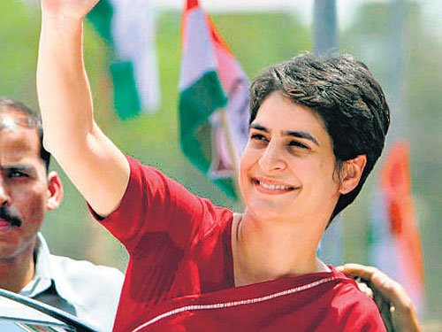 Priyanka meets Azad, fuels speculation about her UP role