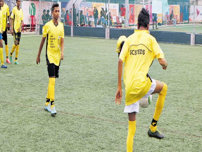 Employing sports to secure child rights