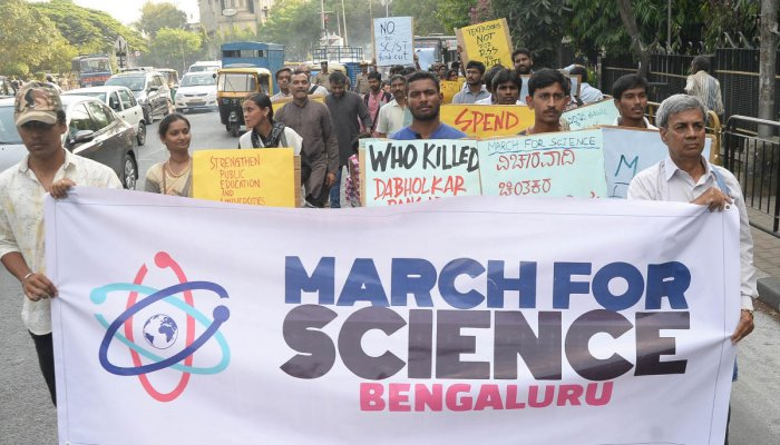 March for Science calls for spirit of enquiry