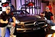 Mercedes launches super sports car in India
