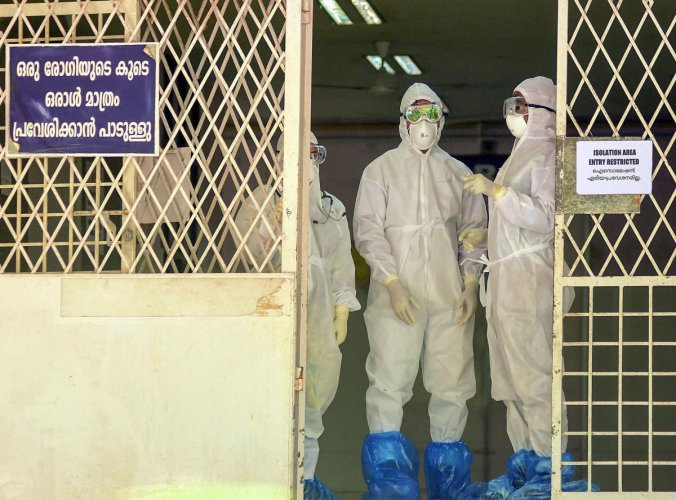 Health department authorities said that though the state was now completely free from Nipah, the people need to be cautious of avoiding the consumption of fruits bitten by fruit bats. (PTI File Photo)