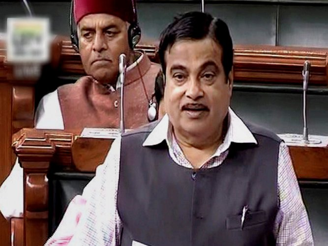 Replying on the discussion on Bill in Lok Sabha, the Minister said the amended law would weed out corruption, improve road safety and usher in the use of more technology to regulate traffic. (PTI File Photo)