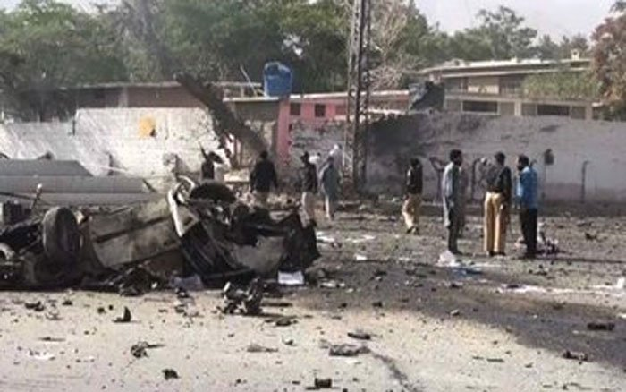 A bomb blast ripped through a vegetable market in Pakistan's Quetta city early Friday, killing at least 14 people and injuring several others, media reports said. Picture courtesy Twitter