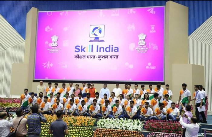 Fourth anniversary celebrations of Skill India Mission (Image courtesy: www.msde.gov.in)