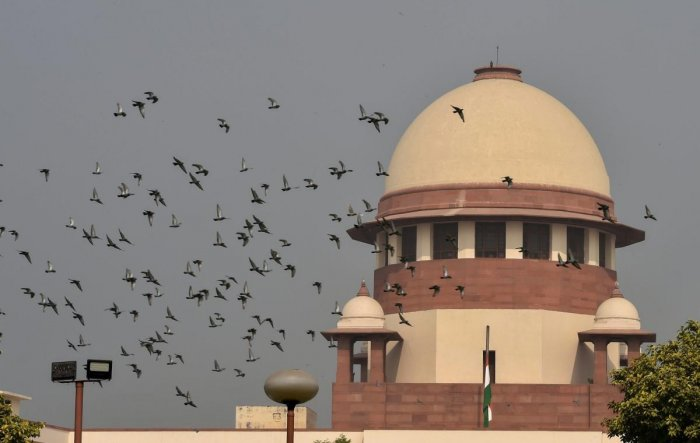 A picture of the Supreme Court. (PTI)