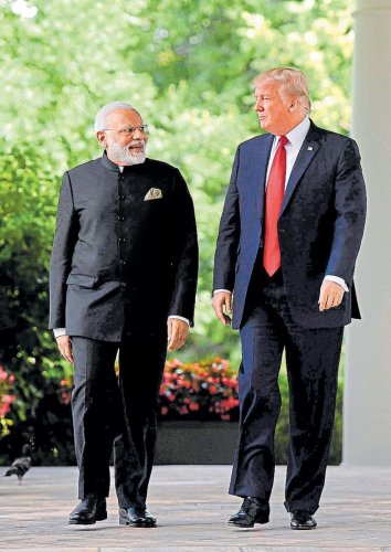 Trump claimed that Modi had asked him to mediate on the Kashmir issue, while New Delhi has denied the fact (AFP File Photo)