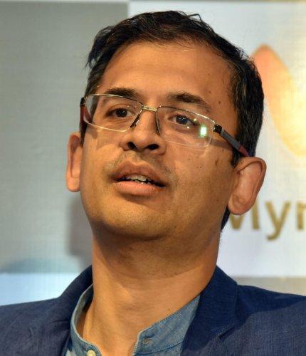 CEO Myntra and Jabong Ananth Narayanan. DH Photo