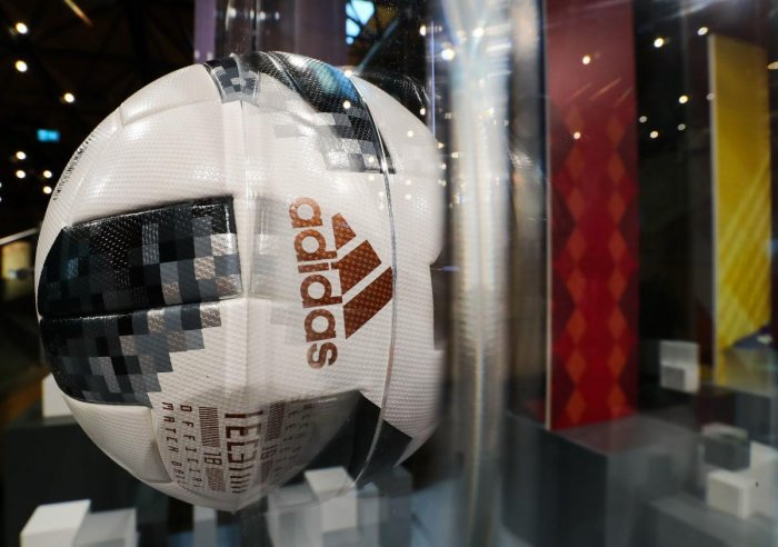 Telstar 18, made by Adidas, will be the official ball for the World Cup this time. AFP