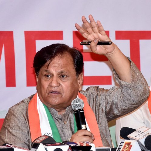 File picture of Ahmed Patel. Photo credit: PTI