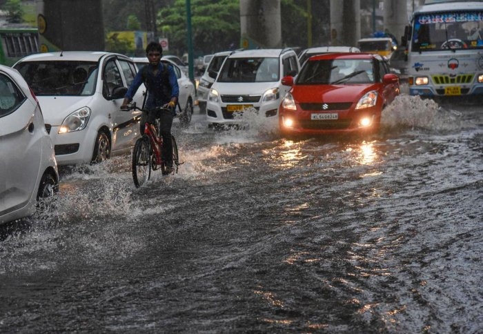 With the South West Monsoon gaining strength in the state since July 18, 10 deaths have been reported so far, Kerala State Disaster Management sources said.