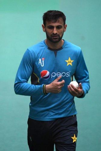 Pakistan's cricketer Shoaib Malik (Photo AFP)