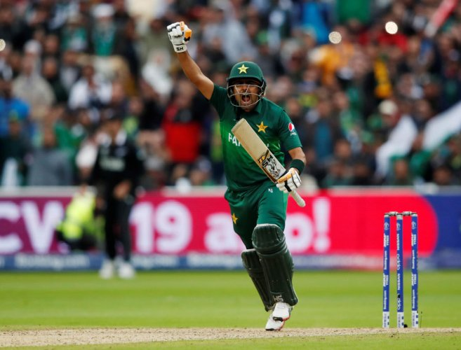 Babar Azam's return to form has been a big boost for Pakistan batting order. Photo credit: Reuters