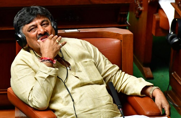 Water Resources Minister D K Shivakumar. File photo