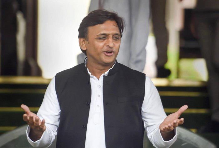 Samajwadi Party leader Akhilesh Yadav (PTI File Photo)