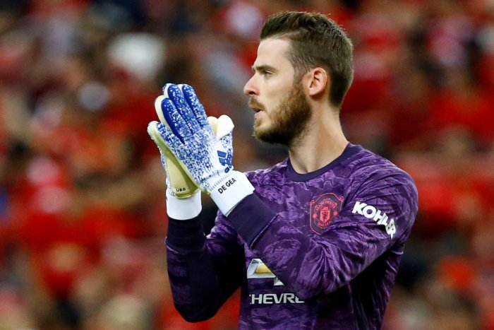 De Gea is one of the most senior players in the current Manchester United squad (Reuters Photo)