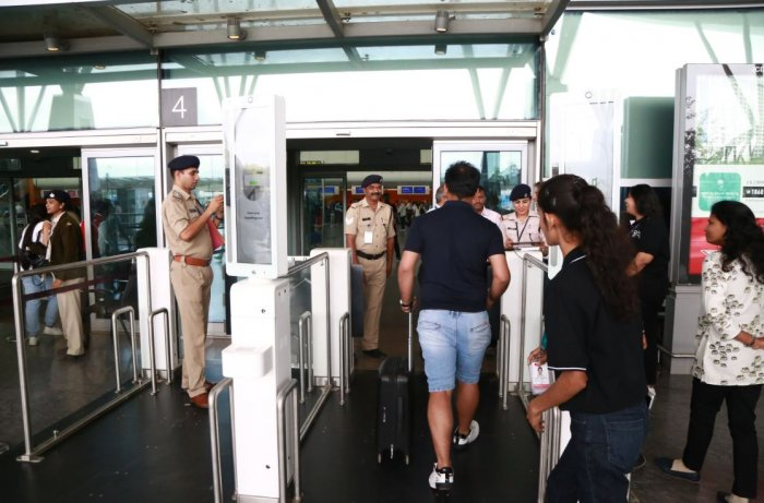 The project is a step towards eventually implementing the country's first all-biometric flow operation where the passenger's face will be his / her boarding pass. (Photo/ Rasheed Kappan)