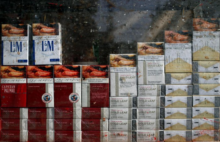 The first seizure took place on Sunday when acting on a tip-off DRI officials intercepted a Kolkata bound truck from Siliguri in North Bengal and seized 10,43,400 cigarettes worth Rs 1.40 crore. (Reuters File Photo. For representation purpose)
