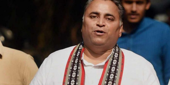 File photo of Sunil Deodhar, BJP National Secretary and co-in charge of Andhra Pradesh. Photo credit: DH