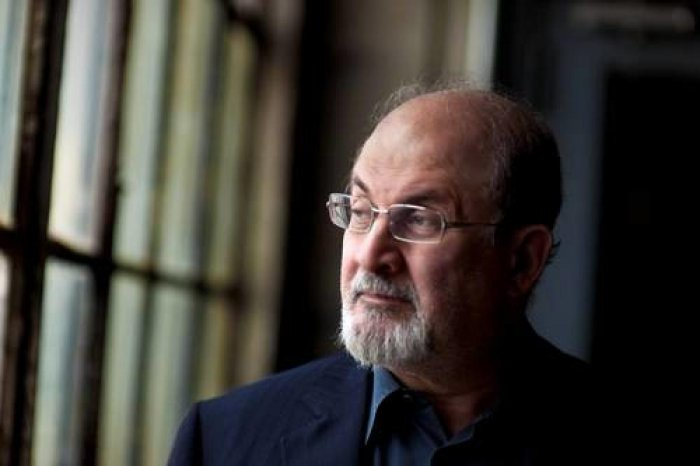 "British Indian novelist Salman Rushdie's yet-to-be-published novel ""Quichotte"" has made it to the long list of this year's Booker Prize. (DH Photo)"