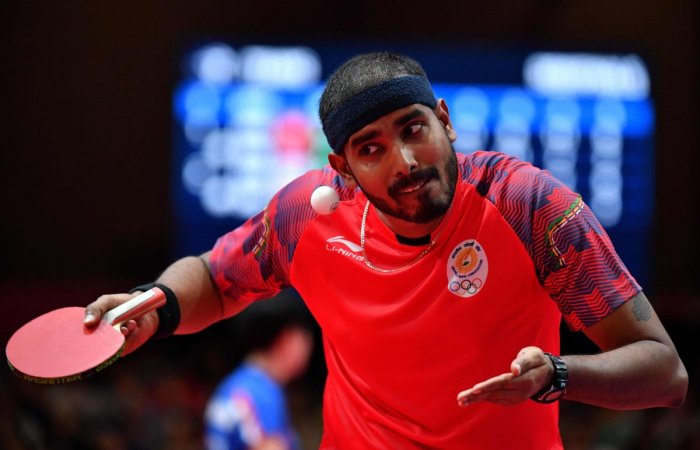 CONFIDENT: Veteran Sharath Kamal Achanta felt Indian players will no longer be the underdogs in the third edition of the Ultimate Table Tennis. AFP