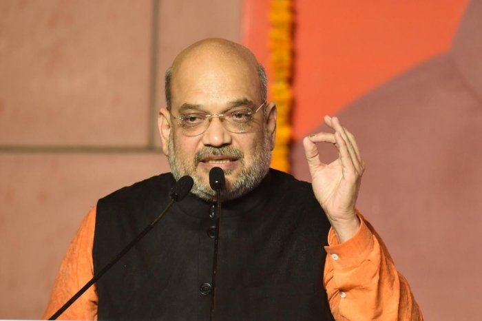 Home Minister Amit Shah will replace his predecessor Rajnath Singh in the GoM. Photo credit: AFP